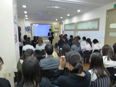 JOBAソウル校 学校説明会会場